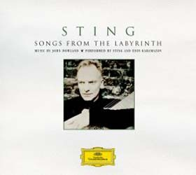 Sting - Songs From The Labyrinth CD - 06025 1703139