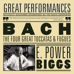 E. Power Biggs  - Bach: Four Great Toccatas And Fugues CD - MK42643