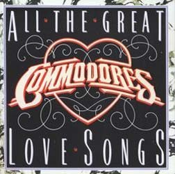Commodores - All The Great Love Songs CD - MMTCD 1848