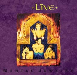 Live - Mental Jewelry CD - MMTCD 2165