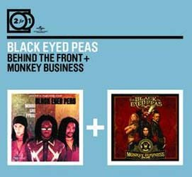 The Black Eyed Peas - 2 For 1: Behind The Front / Monkey Business CD - MMTDCD 033