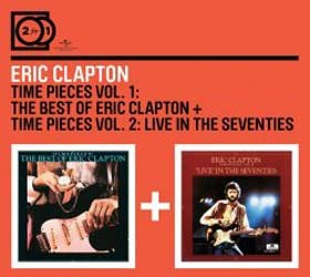 Eric Clapton - 2For1: Time Pieces Vol. 1 / Time Pieces Vol. 2 CD - MMTDCD 052