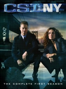 CSI: NY: Season 1 DVD - MP417DL