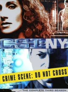 CSI: NY: Season 3 DVD - MP678DL