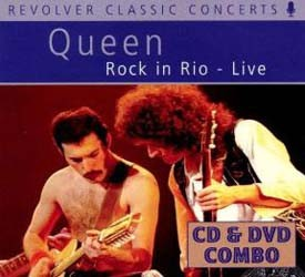 Queen - Rock In Rio - Live CD+DVD - REVCDD464