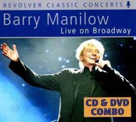 Barry Manilow - Live On Broadway CD+DVD - REVCDD489