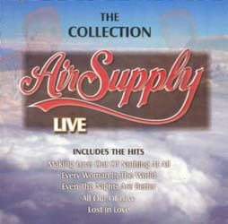 Air Supply - Best Of Live - Air Supply CD - RTBCD2222