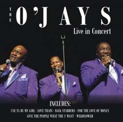 The O'Jays - Live In Concert CD - RTBCD2270