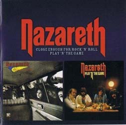 Nazareth - Close Enough For Rock 'N' Roll/Play The CD - SALVOCD 039