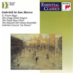 E. Power Biggs / Gregg Smith Singers - Gabrieli In San Marco CD - SBK62426