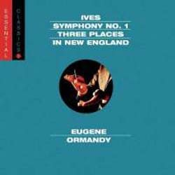 Eugene Ormandy / Philadelphia Orch - Ives: Sym 1, Three Places In New England CD - SBK89851