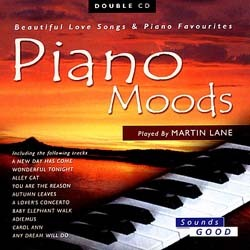 Martin Lane - Piano Moods CD - SELBCD444