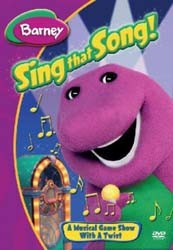Barney: Can You Sing That Song? DVD - SHTD-182