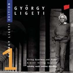 Arditti String Quartet - Ligeti: Wks For String Qrt CD - SK62306
