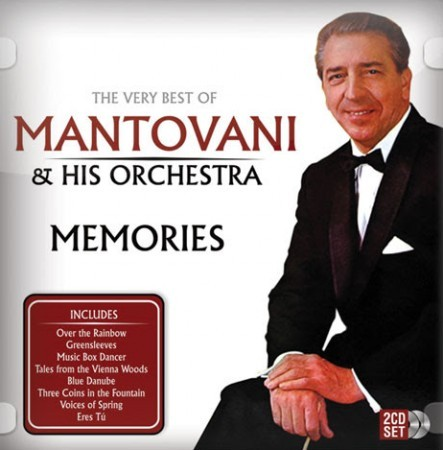 Mantovani & His Orchestra - The Very Best of Mantovani & His Orchestra - Memories CD - SPTB161
