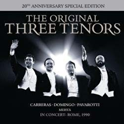 The Three Tenors - The Three Tenors - In Concert - 20Th Anniversary Edition CD+DVD - SSTARCD 7461