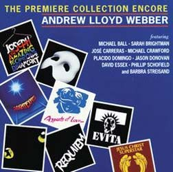 Andrew Lloyd Webber - The Premiere Collection Encore CD - STARCD 5961