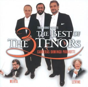The Three Tenors With Zubin Mehta & James Levine - The Best Of CD - STARCD 6716