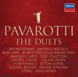 Luciano Pavarotti - The Duets CD - STARCD 7299