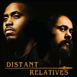 "Nas & Damian ""Jr. Gong"" Marley - Distant Relatives CD - STARCD 7464"