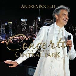 Andrea Bocelli - Concerto: One Night In Central Park CD - STARCD 7628