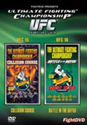 Collision Course+Battle In The Bay DVD - UFCDVD008