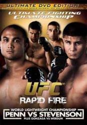 Rapid Fire DVD - UFCDVD080