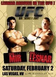Breaking Point DVD - UFCDVD081