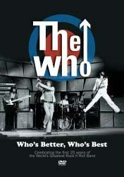 The Who - Who's Better Who's Best DVD - UMFDVD 174