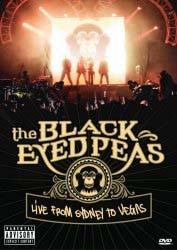 The Black Eyed Peas - Live From Sydney To Vegas DVD - UMFDVD 178