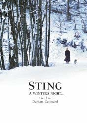 Sting - A Winter's Night - Live From Durham Cathedral DVD - UMFDVD 285