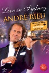 Andre Rieu - Live In Sydney / Andre's Australian Adventure DVD - UMFDVD 290