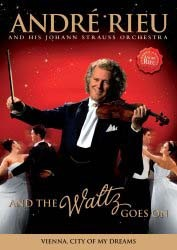 Andre Rieu - And The Waltz Goes On DVD - UMFDVD 307