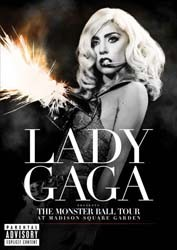 Lady Gaga - Presents: The Monster Ball Tour  DVD - UMFDVD 312