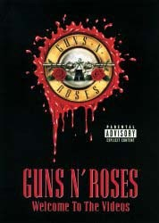 Guns N' Roses - Welcome To The Videos DVD - UMFDVD 65