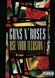 Guns N' Roses - Use Your Illusion I - World Tour - 1992 In Tokyo DVD - UMFDVD 70