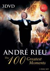 Andre Rieu - 100 Greatest Moments DVD - UMFSDVD 9012