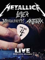 Metallica , Slayer , Megadeth & Anthrax - The Big Four: Live From Sofia Bulgaria DVD - UMFSDVD 9015