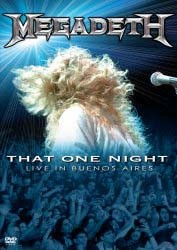 Megadeth - That One Night: Live In Buenos Aires DVD - UMMDVD 8043