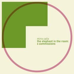 Mira Calix - Elephant In The Room: 3 Commissions CD - WARPCD 169