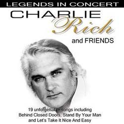 Charlie Rich - Charlie Rich And Friends DVD - WHE10177