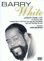 Barry White - Legends In Concert DVD - WHE10221