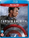 Captain America: The First Avenger 3D Blu-Ray+Blu-Ray - 10223181