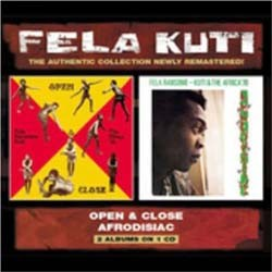 Fela Kuti - Open & Close/Afrodisiac CD - WRASS 044
