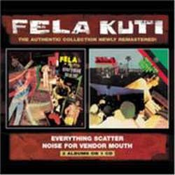 Fela Kuti - Everything Scatter/Noise For Vendor CD - WRASS 049