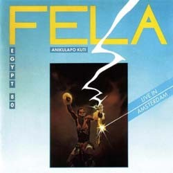 Fela Kuti - Live In Amsterdam CD - WRASS 057