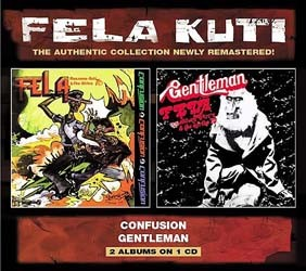 Fela Kuti - Confusion/Gentleman CD - WRASS 069