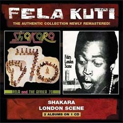 Fela Kuti - Shakara/London Scene CD - WRASS 071