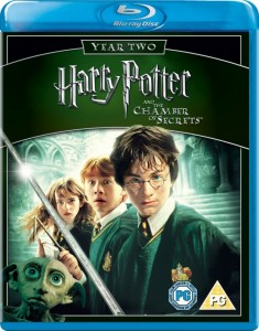 Harry Potter and the Chamber of Secrets Blu-Ray - Y18472 BD