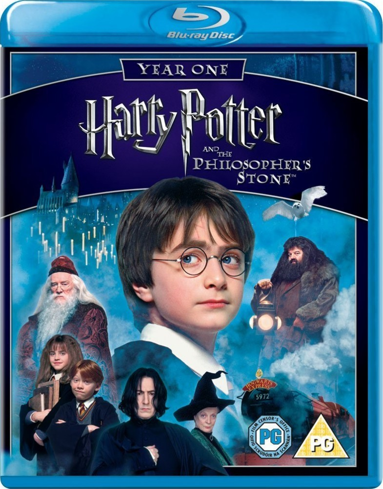 Harry Potter and the Philosopher's Stone Blu-Ray - Y20315 BD